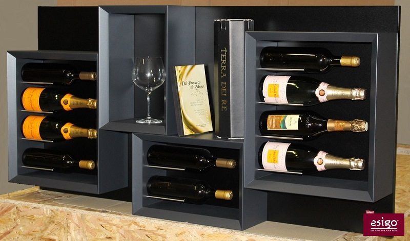 Esigo 5 modern design wine rack