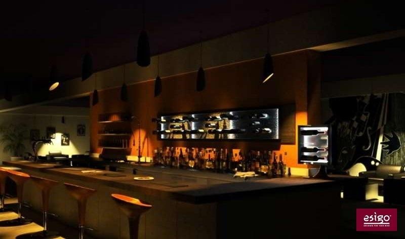 gallery esigo 6 range bouteilles mural. Black Bedroom Furniture Sets. Home Design Ideas