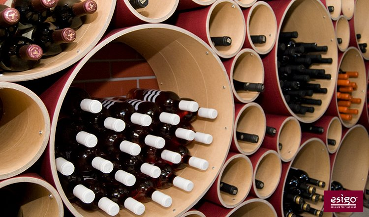 Esigo 8 design wine rack