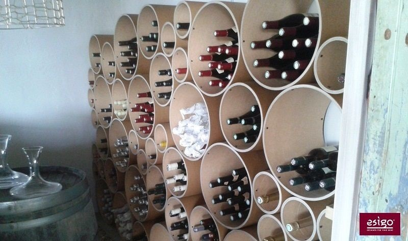 Esigo 8 wine storage rack