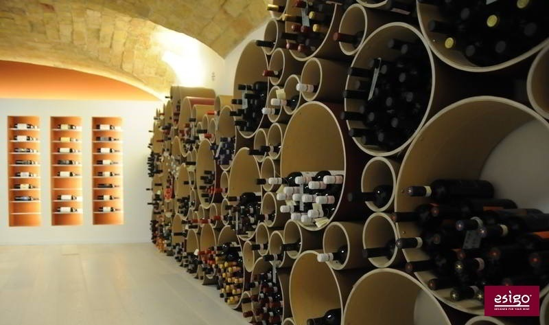 Esigo 8 modern design wine rack