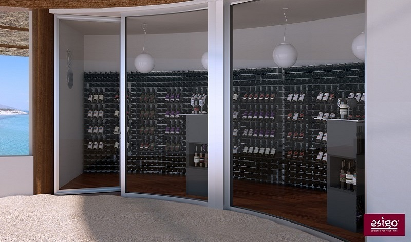 Esigo wine room furniture