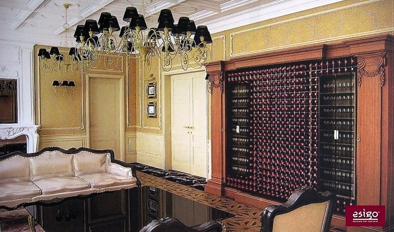 Esigo wine cabinet for living-room