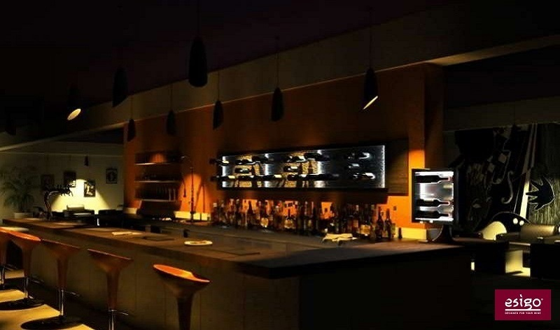Esigo wine bar furniture