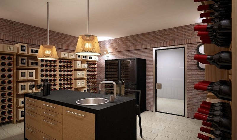 Classic wine cellar furniture Esigo