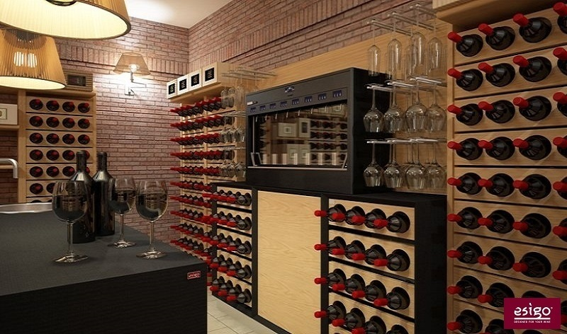 Esigo wine cellar furniture