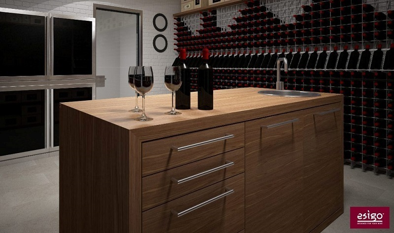 Esigo wine cellar design