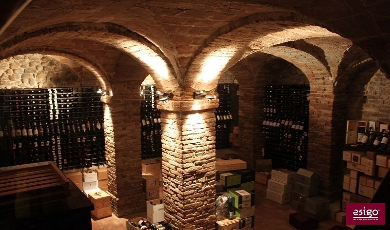 Professional wine cellar furniture Esigo
