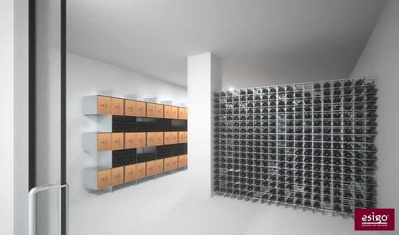 Esigo 2 Box and Esigo 2 Net wine storage solutions