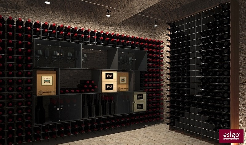 Modern design wine cellar furniture