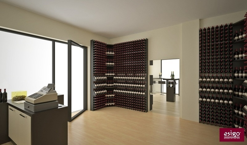 Esigo modern design wine shop furniture