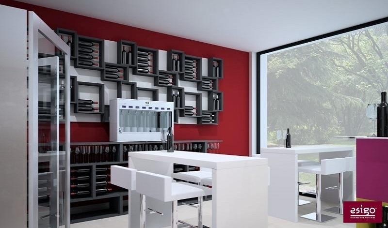 Contemporary Design Wine Furniture
