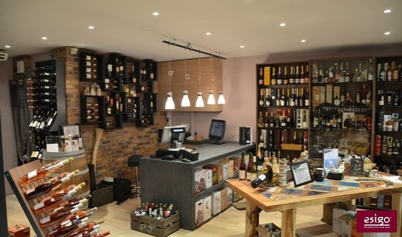 Esigo modern wine shop furniture
