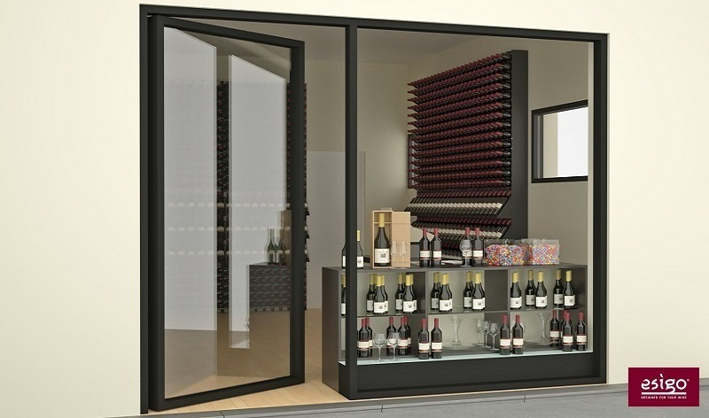 Esigo wine shop furniture