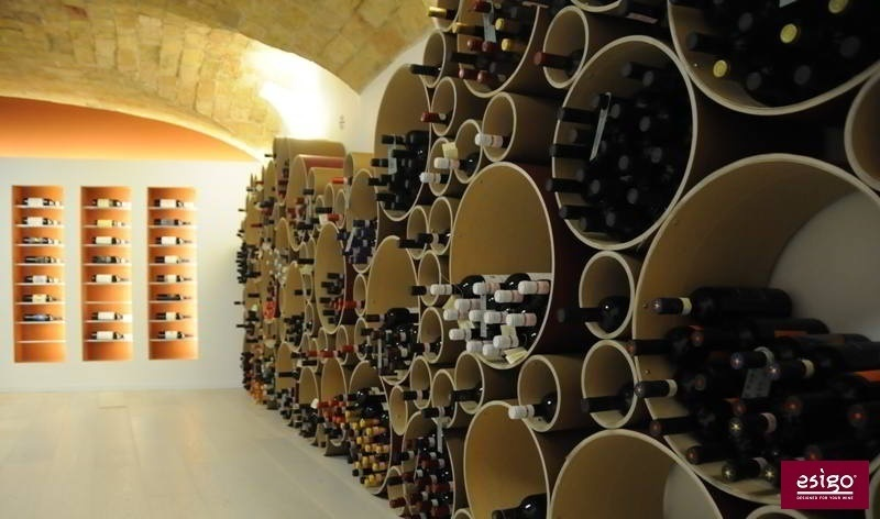 Design wine storage furniture Esigo
