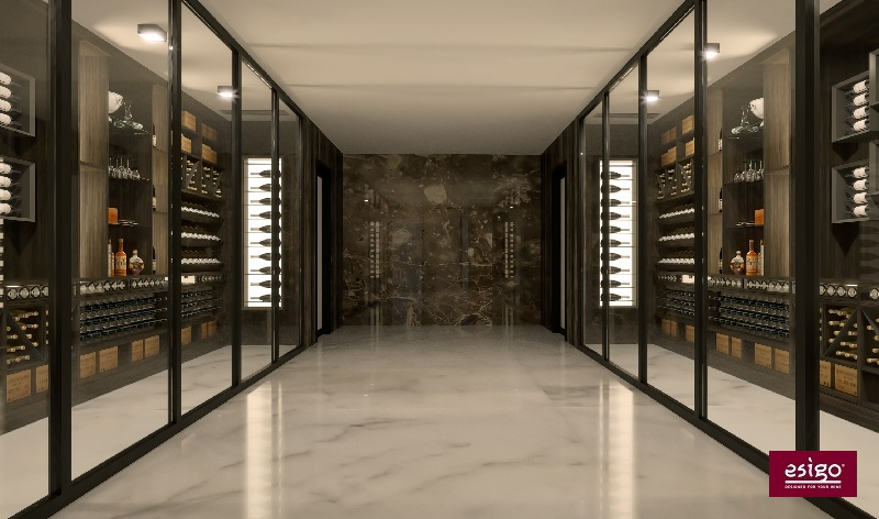 Esigo custom made Wine room
