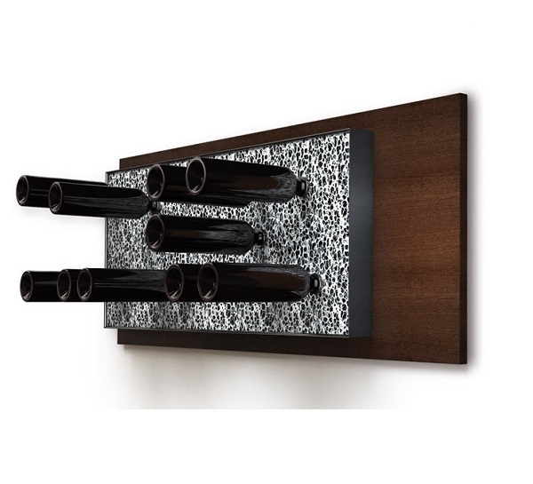 Esigo 6 wall-mounted wine rack