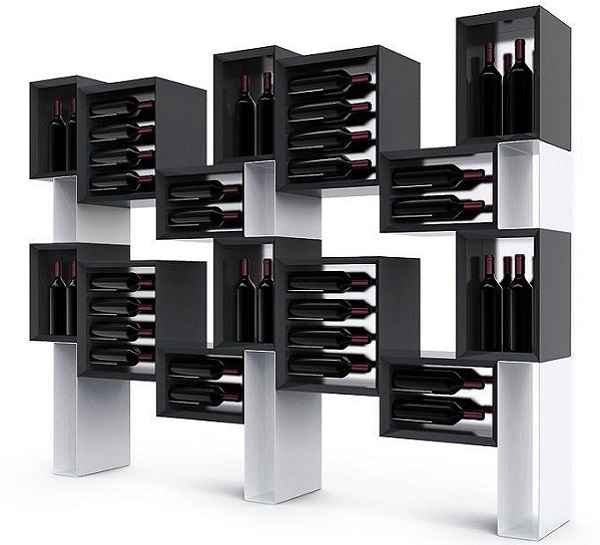 Esigo 5 Floor wooden wine rack