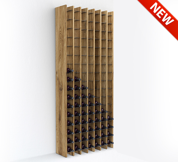 Esigo 14 wooden wine rack