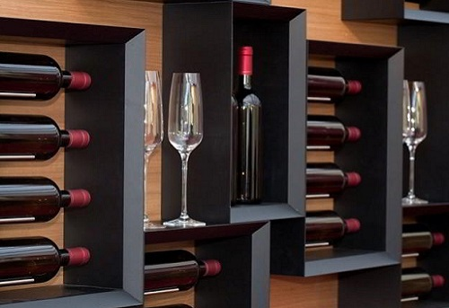 Esigo srl - Wall mounted wine racks