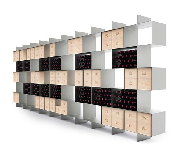 Esigo 2 Box modern design wine rack