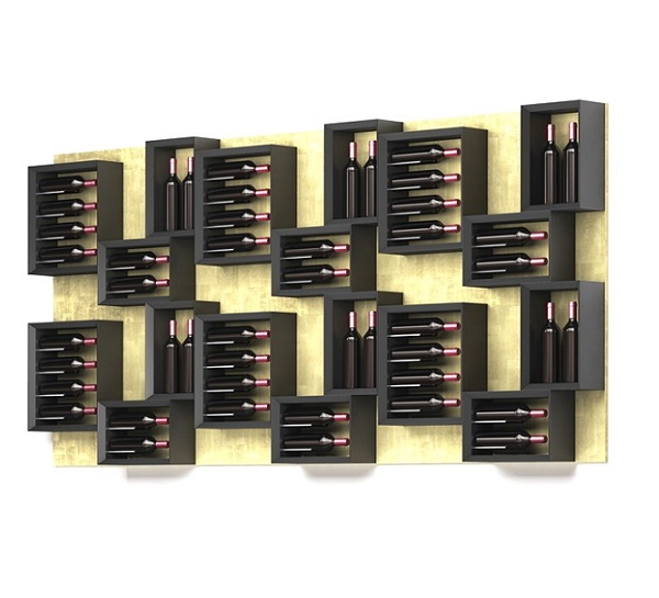 Esigo 5 Esigo by Sanpatrignano Composition wooden wine rack