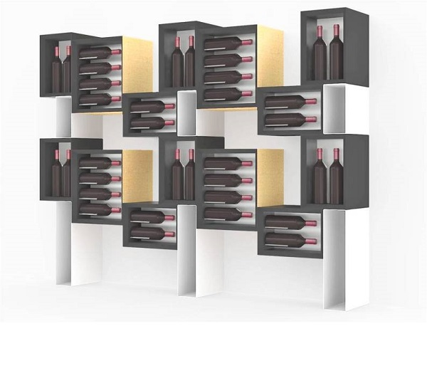 Esigo 5 Floor By Sanpatrignano wooden wine cabinet
