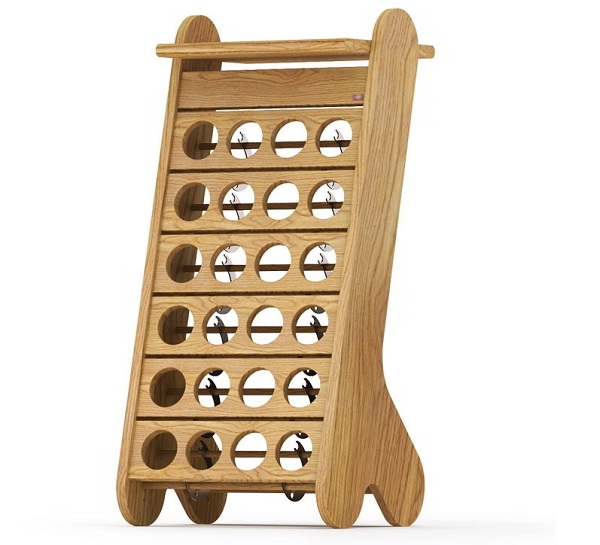 Esigo 1 Classic wooden wine rack