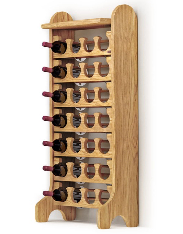 Esigo 2 Classic wooden wine rack