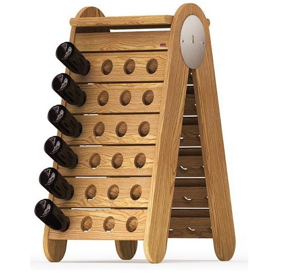 Botelleros de madera esigo - Estanterias para vino ...