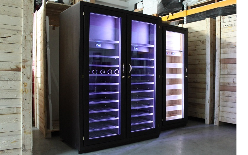 Esigo refrigerated wine closet