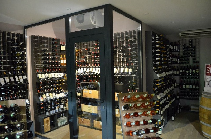 Esigo refrigerated wine room