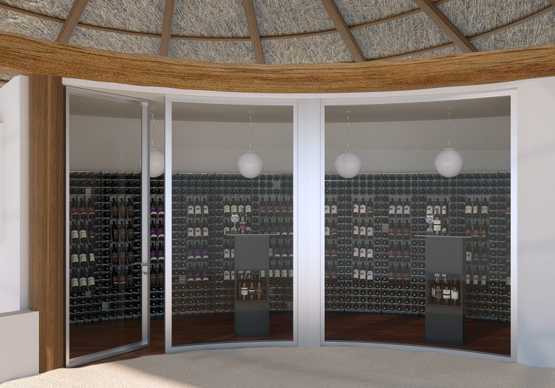 esigo refrigerated wine room and wine cellar