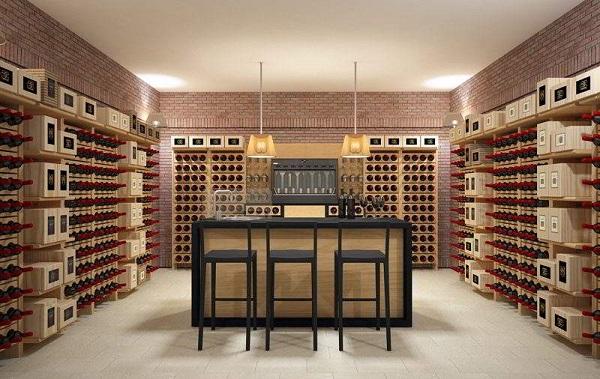 wine cellar furniture. Wine Cellar Furniture E