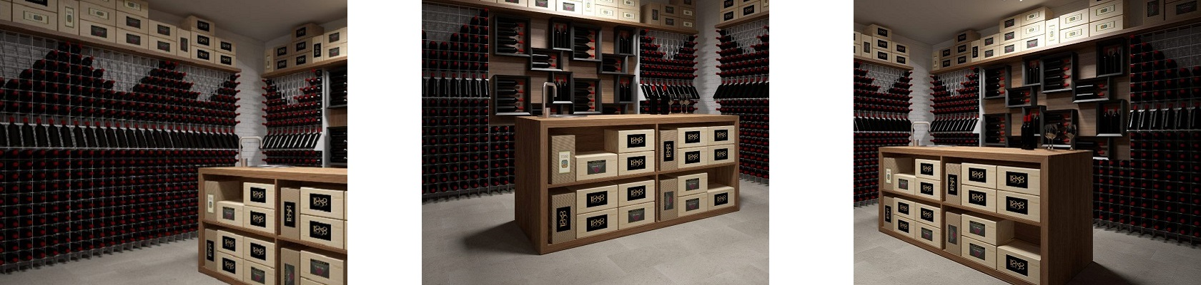 Esigo 2 Net wine storage rack
