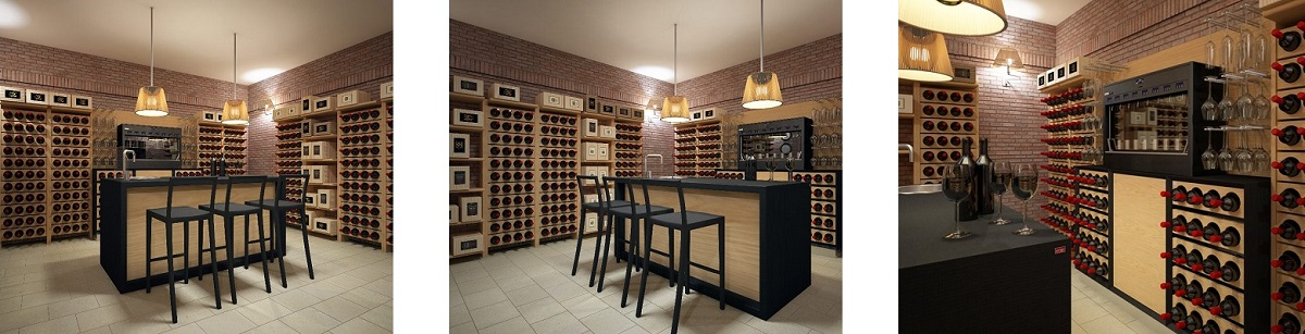 Wine cellar furniture version Classic