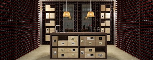 wall version wine cellar furniture design