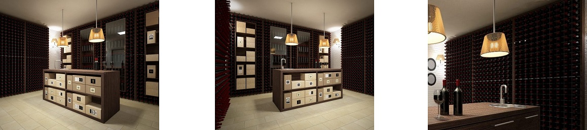 wine cellar furniture wall version